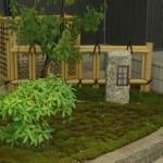 竹垣と杉苔が素敵な和のお庭