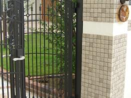 門柱と門扉