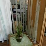 ガラスの竹