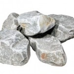 クラッシュロック ラージサイズ アッシュグレー(石英岩)