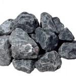 クラッシュロック スモールサイズ アッシュブラック(石英岩)