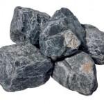 クラッシュロック ラージサイズ アッシュブラック(石英岩)