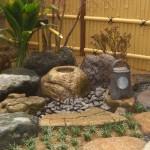中庭 水鉢