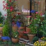 ローズアーチのお庭